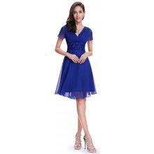 Ever-Pretty letní šaty krátké 3882 modrá b0e825f52b8