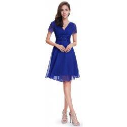 Dámské šaty Ever-Pretty letní šaty krátké 3882 modrá 9f20b36707