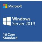 OEM Microsoft Windows Server Standard 2019 64bit CZ 1pk DVD 16 Core P73-07786