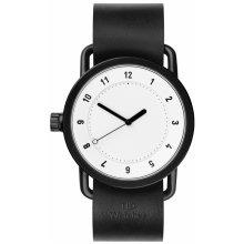 TID Watches No.1 White/ Black Wristband