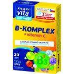 Maxivita B - komplex + vitamin C 30 tablet