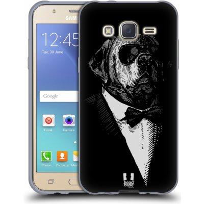 Pouzdro HEAD CASE Samsung Galaxy J5, J500, (J5 DUOS) vzor Zvíře v obleku pes