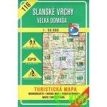 Slanské vrchy Veľká Domaša 1 : 50 000 -- 116 Turistická mapa
