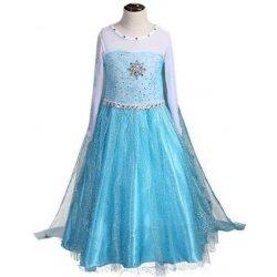 7d875650b14c šaty Frozen Ledové království Elsa stříbrné nitky od 429 Kč - Heureka.cz