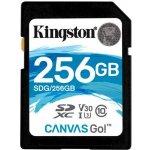 Kingston SDXC 256GB UHS-I U3 SDG/256GB