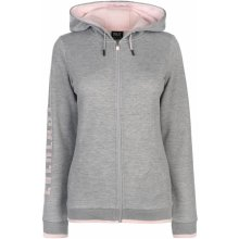 e7f2bd5703c Everlast Long Line Zip Hoodie Ladies Grey Marl