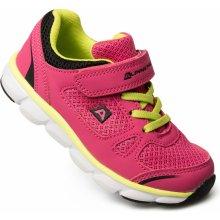 Alpine Pro dívčí sportovní tenisky Bomiro růžové