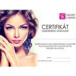Smart Lashes Certifikát - Prodlužování řas