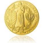 Česká mincovna Zlatá investiční mince 100 dukát Spytihněva I. stand 348,5 g