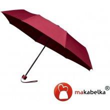 Skládací deštník Fashion vínový