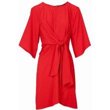 a6402bd13e5 Ashley Brooke by heine zavinovací koktejlové šaty červená