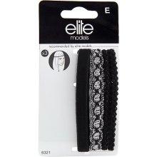 Čelenky na čelo 3ks Elite Models 3ks, textilní, černá