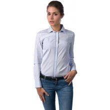 Gant dámská kostkovaná košile světle modrá