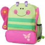 Pidilidi 6047 batoh dětský motýl zelená uni