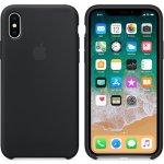 Pouzdro Apple silikonové iPhone X černé