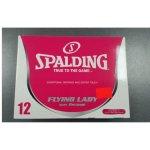 SPALDING W ball Flying