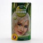HennaPlus dlouhotrvající barva extra stříbrná blond 10.01 100 ml