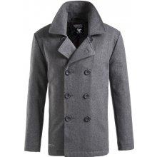 Kabát Pea Coat antracitový