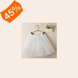 Dámská tylová tutu sukně bílá dámská sukně - Nejlepší Ceny.cz 080ca9ef46