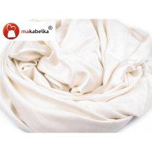 Nádherná a elegantní bílá velká šála.