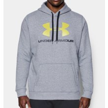 Under Armour Rival Fitted Graphic Gray