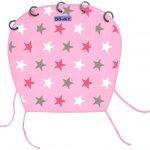 Dooky Design sluneční clona Pink Stars