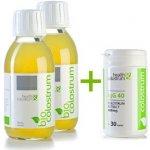 Health & Colostrum Bio colostrum 2 x 125 ml + colostrum IgG 40 30 kapslí