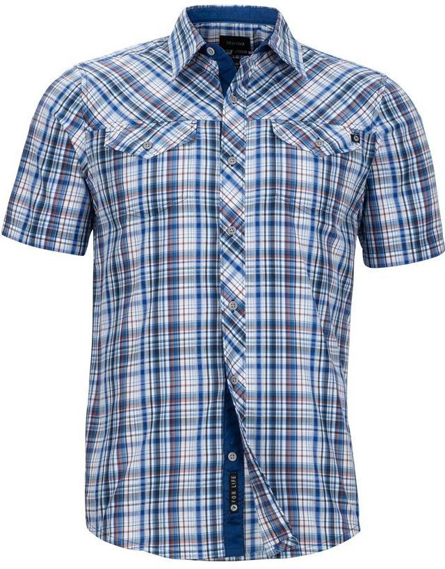 Recenze Marmot Riggs Pánská košile SS modrá - Heureka.cz 4818fb51f2