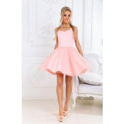 Elegantní dámské plesové šaty růžová alternativy - Heureka.cz 2fd254fa8d