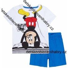 TV Mania pyžamo MICKEY MOUSE letní bílé