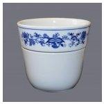 Cibulák květináč Krasko originální cibulákový porcelán Dubí, cibulový 18,5 cm