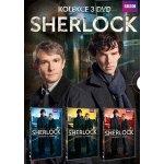 Sherlock: kompletní 1. sezóna, 3 DVD