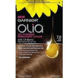 Barva na vlasy Garnier Olia 7.0 Tmavá blond barva na vlasy