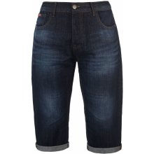 785f3303810 Lee Cooper Below The Knee Denim shorts Mens Dark Wash