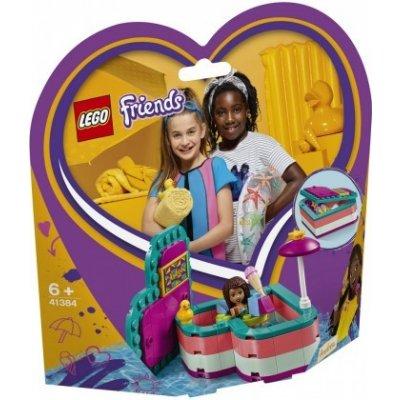 LEGO 41384 Andrea a letní srdcová krabička