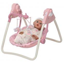 Baby annabell 3 in 1 kinderstoel schommel en maxi cosi picture