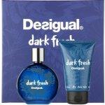 Desigual Dark Fresh EdT 100 ml + balzám po holení 100 ml dárková sada