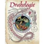 Drakologie - relaxační omalovánky: 31 omalovánek draku - Kol.