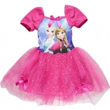 E plus M Dívčí šaty Frozen růžová