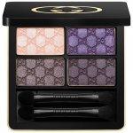 Gucci Eye oční stíny 70 Purple Topaz Magnetic Color Shadow Quad 5 g