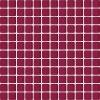 Ceramika Paradyz Uniwersalna mozaika szklana bordo - obkládačka mozaika 29,8x29,8 červená Uniwersalna mozaika szklana bordo 29,8x29,8 Abrila