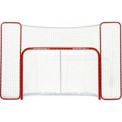 """Hokejová branka Winnwell 72"""" ProForm s postranní sítí"""