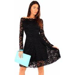 Filtrování nabídek Společenské krajkové šaty s dlouhým rukávem černá ... 1e87905009
