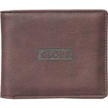 GLOBE Pánská peněženka Globe Corroded II Wallet Brown OS
