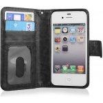 Pouzdro EGO Mobile iPhone 4/4s QULT WALLET 2in1 ZIPPER černé