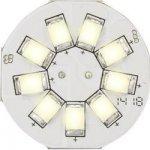 Renkforce LED žárovka 12 V G4 16.75 mm 1.5 W = 10 W Teplá bílá