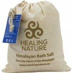 Healing Nature sůl koupelová s květem šalvěje 1 kg
