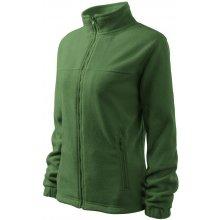 Fleecová dámská Fleece Jacket zelená