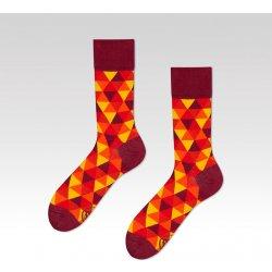 098945fab8d Veselé vzorované ponožky Flame červené od 219 Kč - Heureka.cz