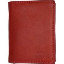 cd33e2c20 Pánská celá kožená kvalitní peněženka Kabana červená